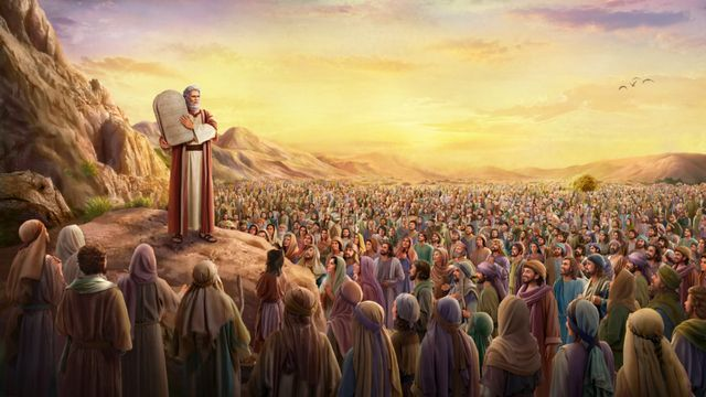 bible study | Moses to proclaim the Ten Commandments